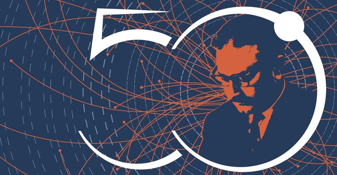Poster, 50th Anniversary of the  Abdus Salam International Centre for Theoretical Physics (ICTP)