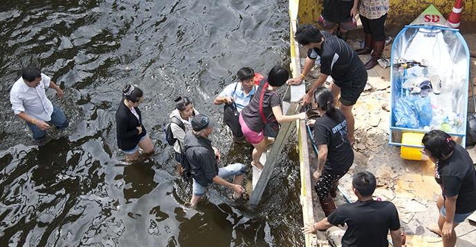 Flood in Bangkok in 2011