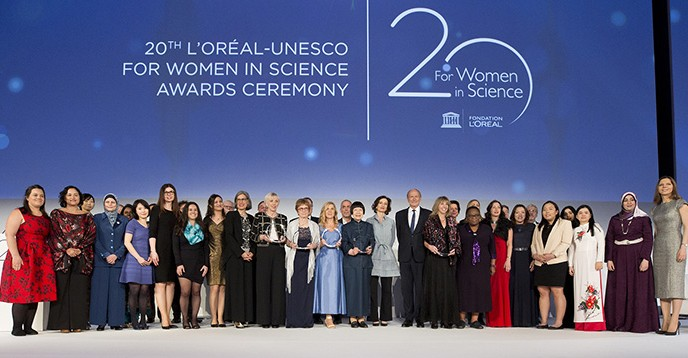 l oréal unesco for women in science awards a shared commitment to