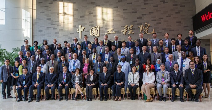 participants of the 1st UNESCO Natural Science Centres meeting, Beijing