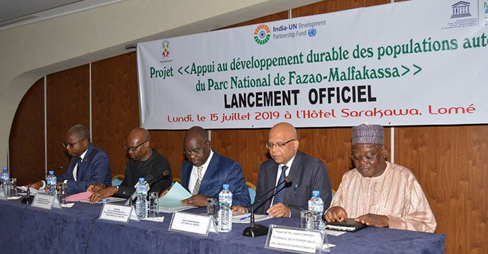 Launch of green economy project in Togo