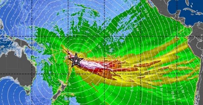 Deep-Ocean Tsunami Amplitude Forecast