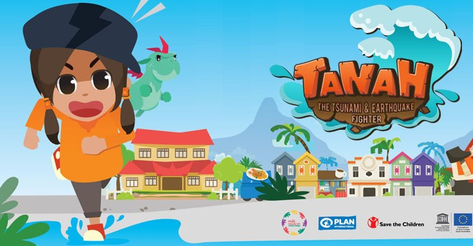 Tanah, the tsunami and earthquake fighter