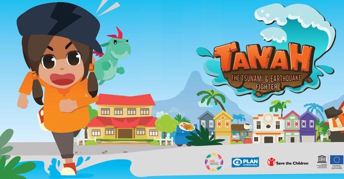 Tanah, the tsunami and earthquake fighter