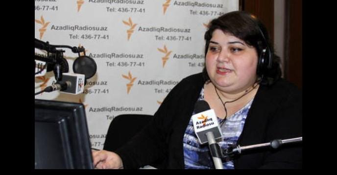 All rights reserved. Khadija Ismayilova. Azerbaijani journalist Khadija Ismayilova winner of UNESCO/Guillermo Cano World Press Freedom Prize 2016.