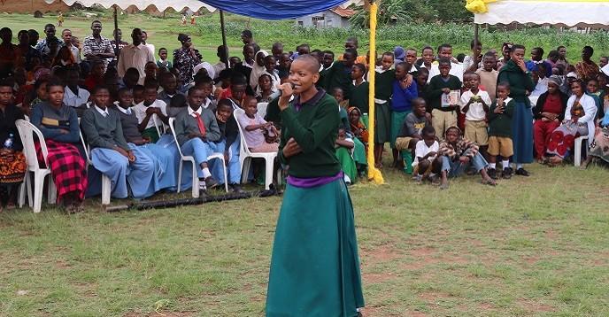 Marim Joseph from Kilabela Secondary School