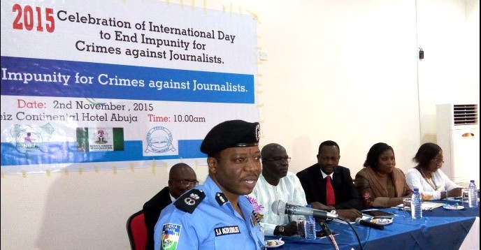 International Day to End Impunity for Crimes against