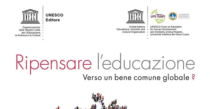 "Launch of the Italian edition of ""Rethinking Education ..."