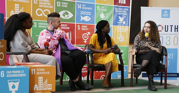 SDG-Education 2030 Steering Committee at Youth Forum 2019
