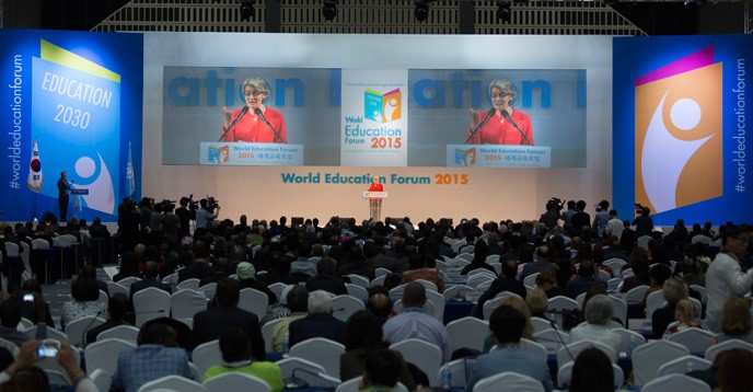 World Education Forum adopts Declaration on the Future of Education