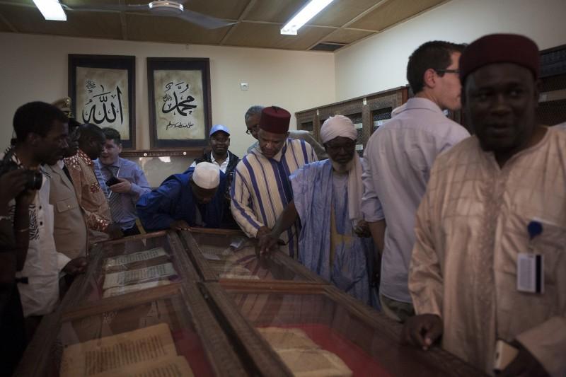 Ben Essayouti library, Timbuktu