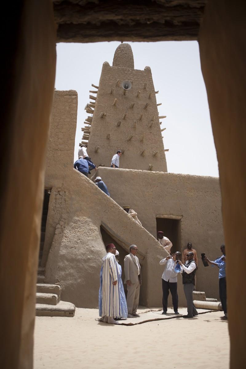 Djinagreyber mosque, Timbuktu