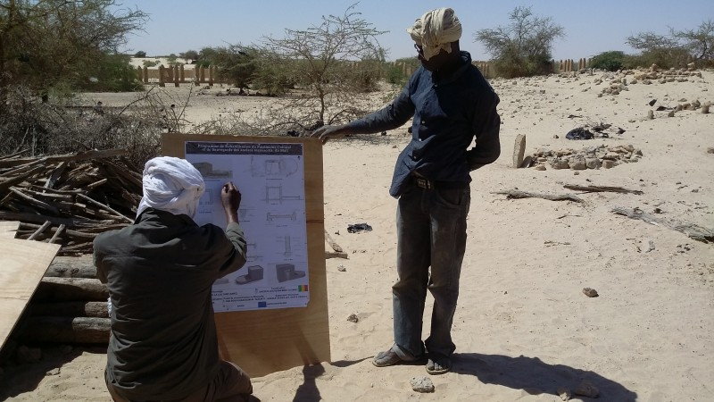 Working session with masons, Timbuktu