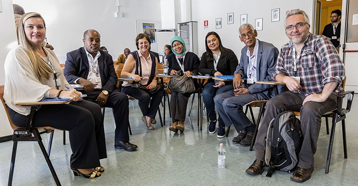 Some participants of the 2016 TWAS Research Grants Conference from Brazil, Ethiopia, Argentina, Indonesia, Nepal, Sudan, and Chile.