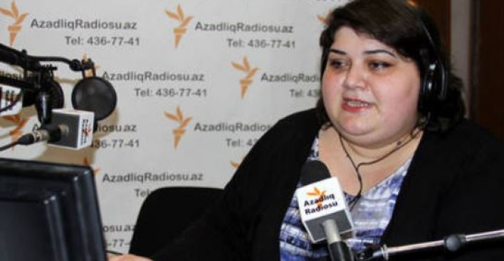 All rights reserved. Khadija Ismayilova. Azerbaijani journalist Khadija Ismayilova winner of UNESCO/Guillermo Cano World Press Freedom Prize 2016.