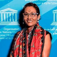 Bibi Russel, UNESCO Artist for Peace