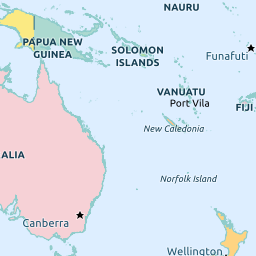 Tokelau - Tokelau map